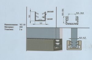 Уплотнитель 4-6,5 мм Батайск