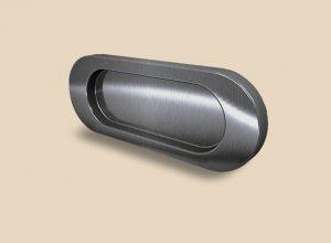 Ручка серебро глянец овальная Италия Батайск