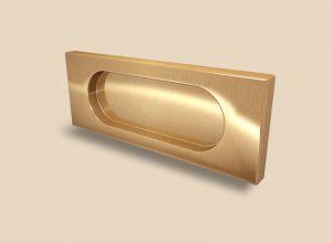 Ручка Золото глянец прямоугольная Италия Батайск