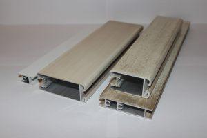 Профиль алюминиевый для шкафа купе, межкомнатных перегородок эмаль +патина Батайск
