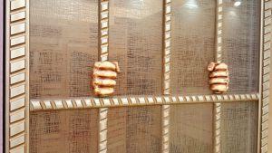 Алюминиевый профиль для шкафа купе эмаль с декоративной накладкой Батайск