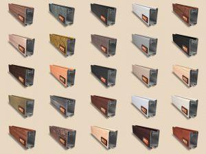 """Алюминиевый ламинированный профиль """"HOLZ"""" для шкафов купе и межкомнатных перегородок Более 100 цветов Батайск"""