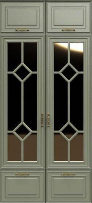 Фасад с фигурной филенкой эмаль Батайск