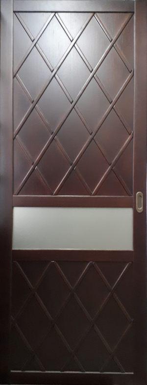 Вставка в дверь с фигурной филенкой Батайск