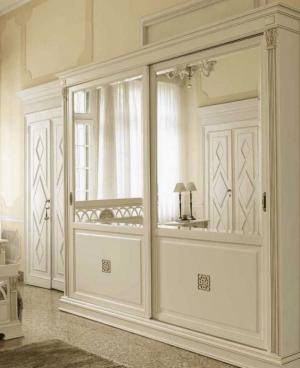 Шкаф купе с филенкой и декоративной накладкой эмаль Батайск